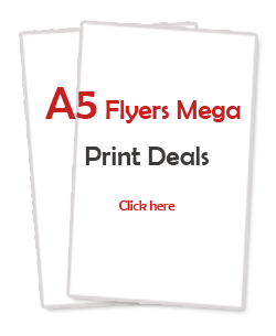 A5 flyers and leaflets printing services in Scotland - Aberdeen, Dundee, Perth, Glasgow, Edinburgh