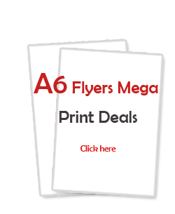 A6 Leaflet and Flyer Printing Services